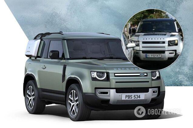 В Украине уже успели разбить новейший Land Rover за $100 000