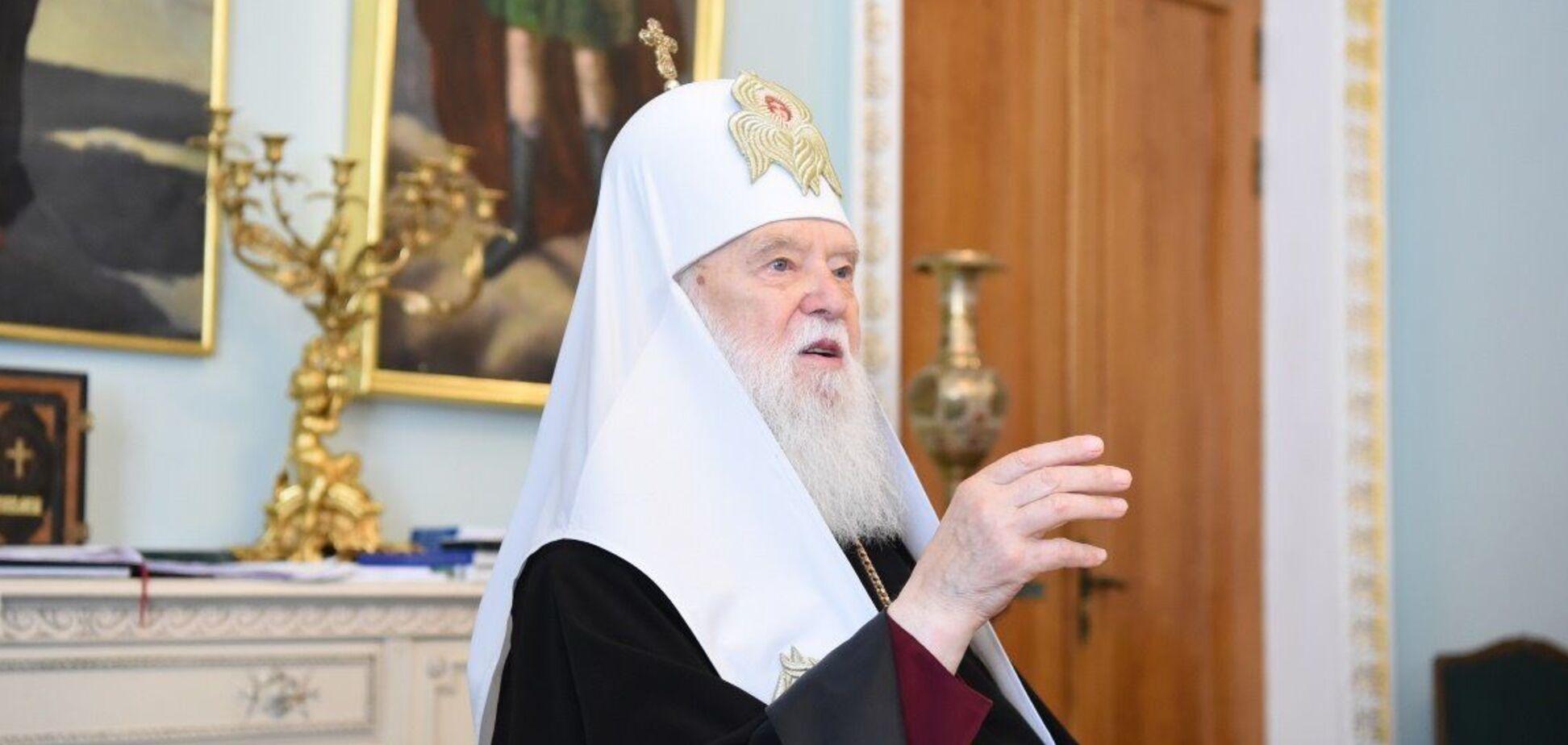 Филарет рассказал о причинах войны на Донбассе