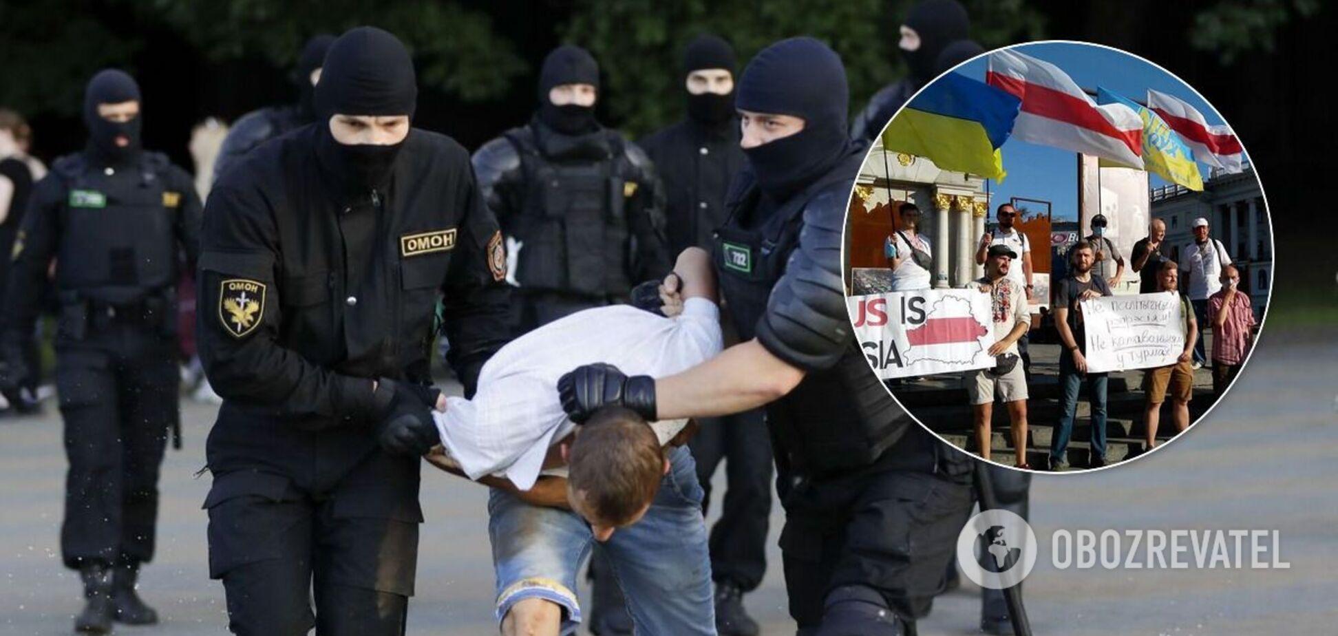Протести й затримання в Білорусі
