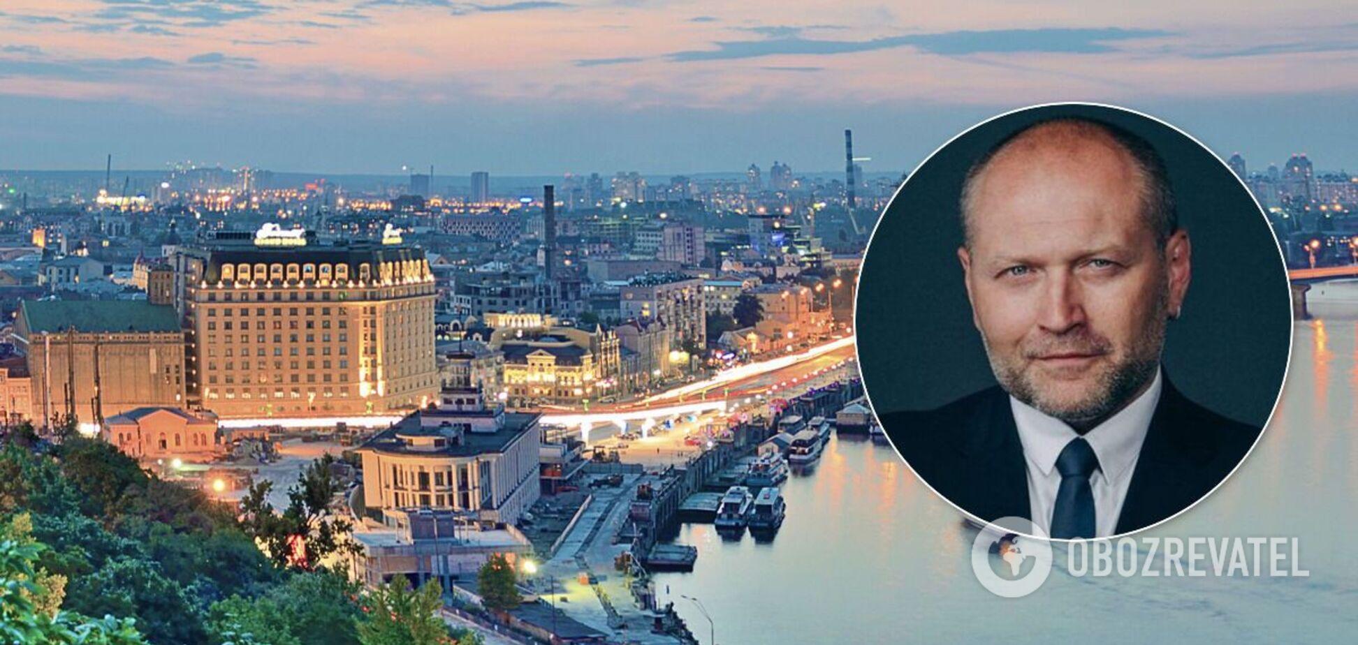 Береза йде у мери Києва