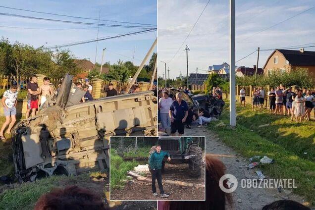 Малюк плаче й кличе татка: ексклюзивні деталі загибелі сім'ї в ДТП на Івано-Франківщині