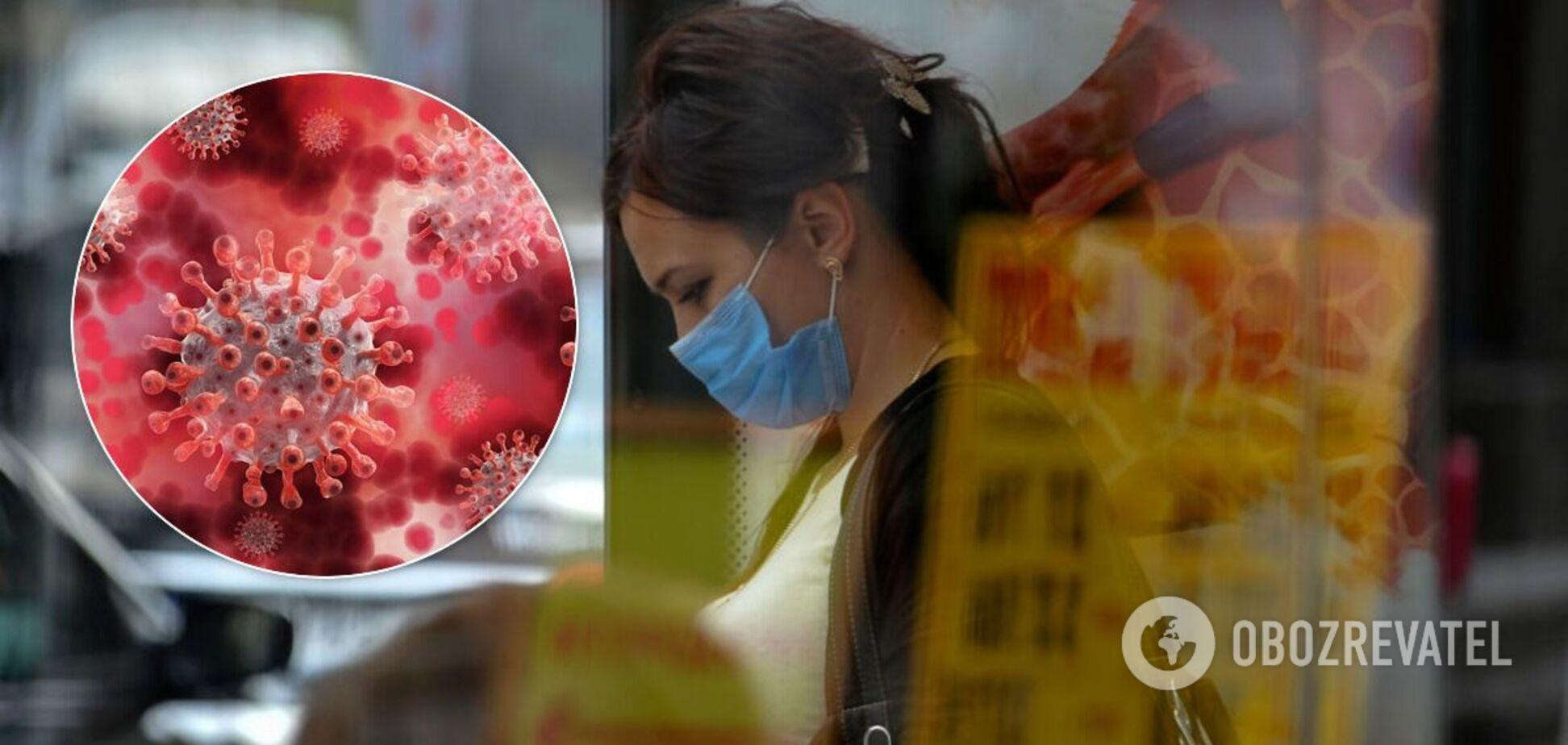 Эпидемия коронавируса в Украине не утихает