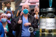 Російська вакцина сумнівна, повторні випадки зараження COVID-19 можуть бути помилковими, – лікар з Ізраїлю