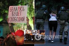 У Мінську минула третя ніч протестів