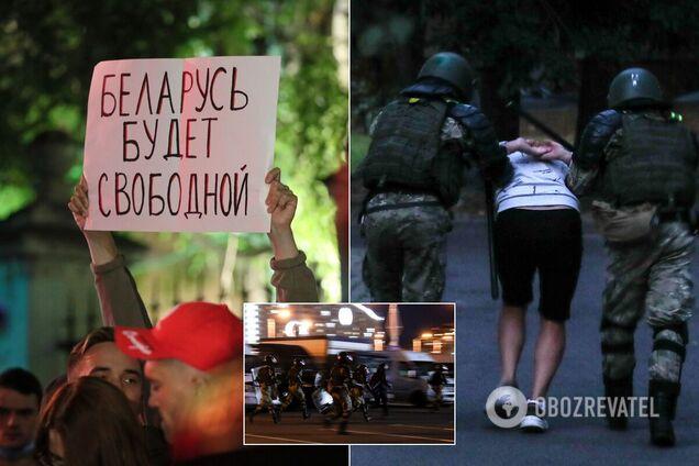 В Минске прошла третья ночь протестов