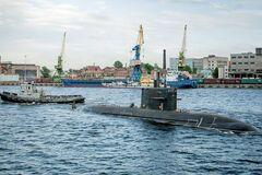 В России сообщили о пожаре на подлодке: в МЧС ответили
