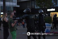 Протесты в Беларуси продолжаются уже три дня