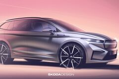 Новый электромобиль Skoda показали на официальных изображениях. Фото: Skoda