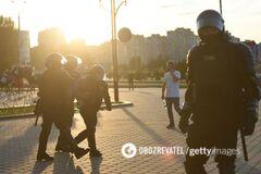 Литва призвала прекратить насилие в Беларуси против протестующих