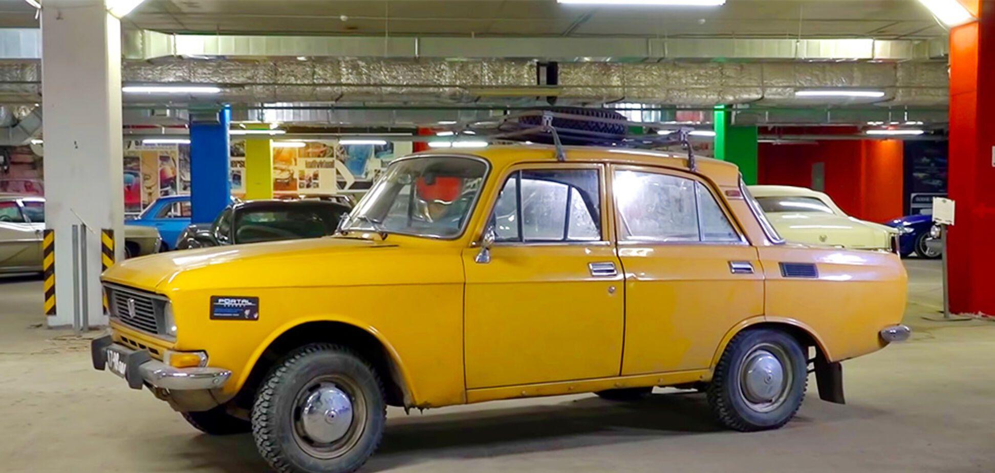 Подросток превратил Москвич за $480 в электромобиль