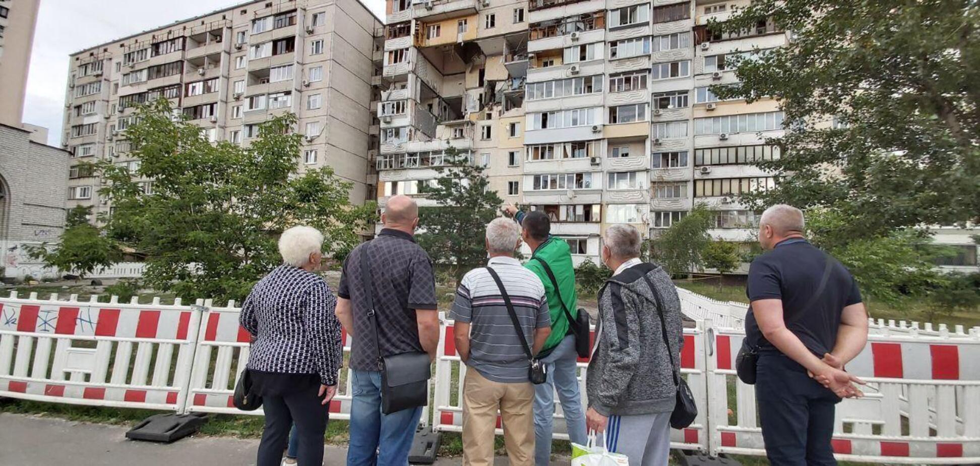 У Києві остаточно вирішили долю будинку, який вибухнув на Позняках