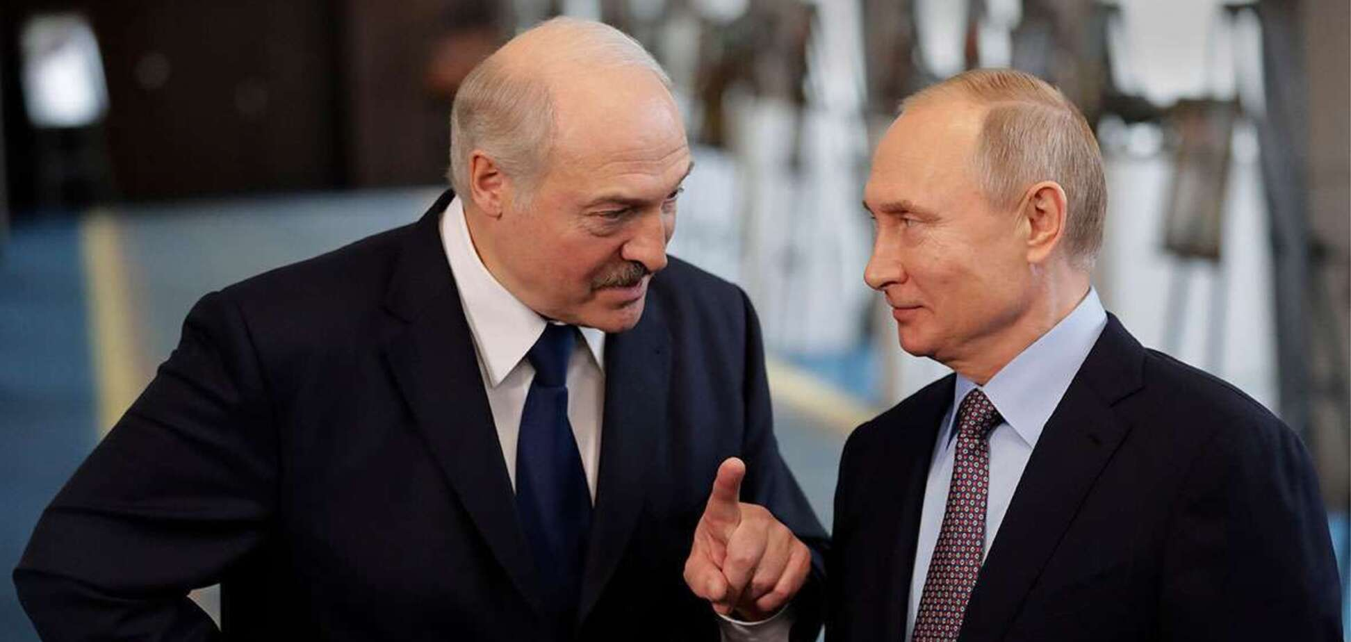 Президент Беларуси Александр Лукашенко с коллегой Владимиром Путиным. Источник: Твои новости Гомель