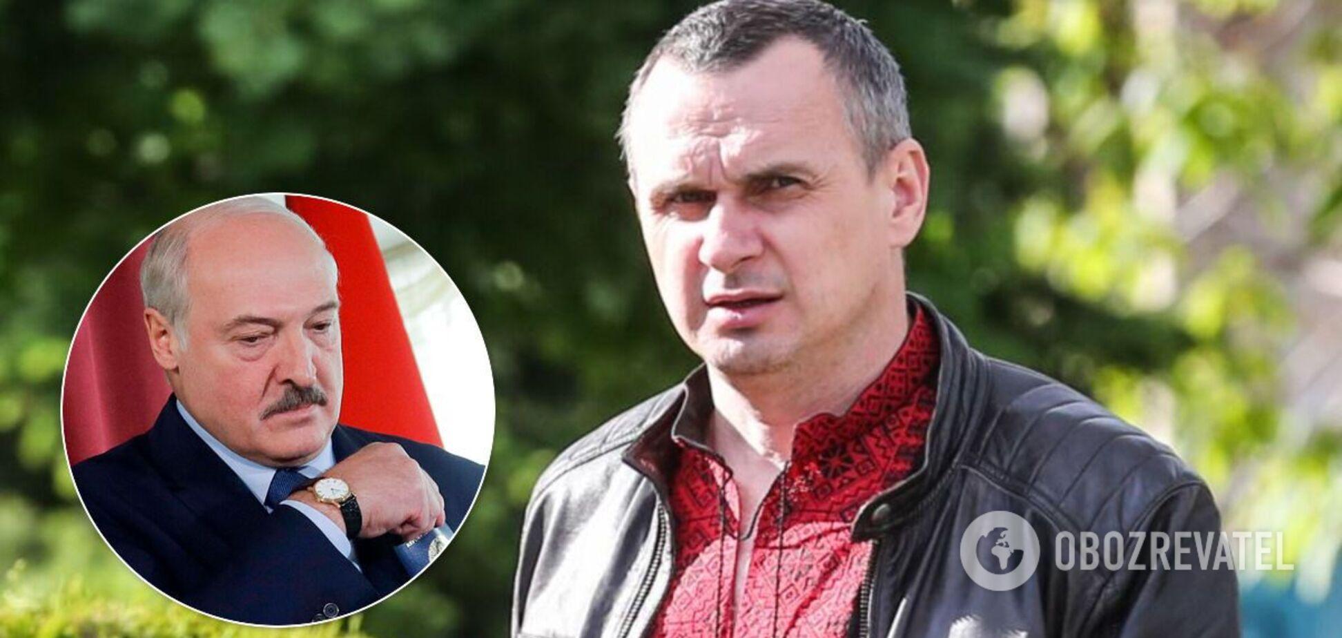 Сенцов обозвал Лукашенко 'кровавым тараканом'
