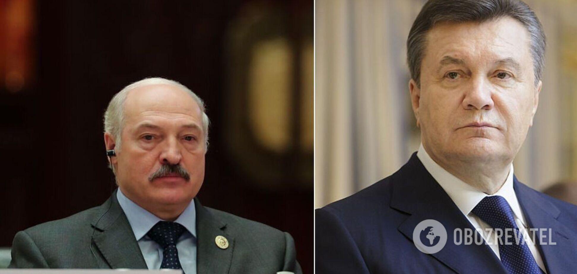 Александр Лукашенко и Виктор Янукович