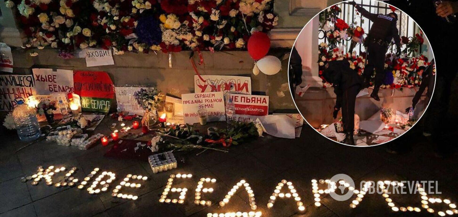 Московская полиция уничтожила мемориал