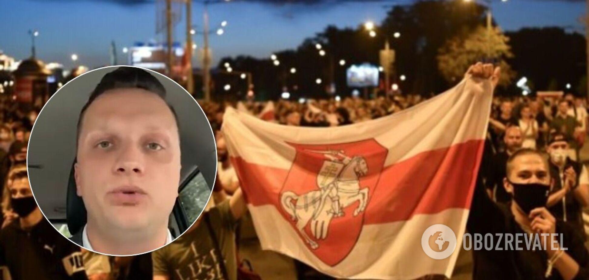 У Білорусі через протести звільнився ведучий держканалу Міноборони