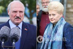 Даля Грибаускайте назвала Лукашенко кровавым диктатором