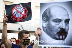 Протесты в Беларуси против Лукашенко