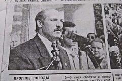 Кандидату в президенты Лукашенко испортили новый костюм