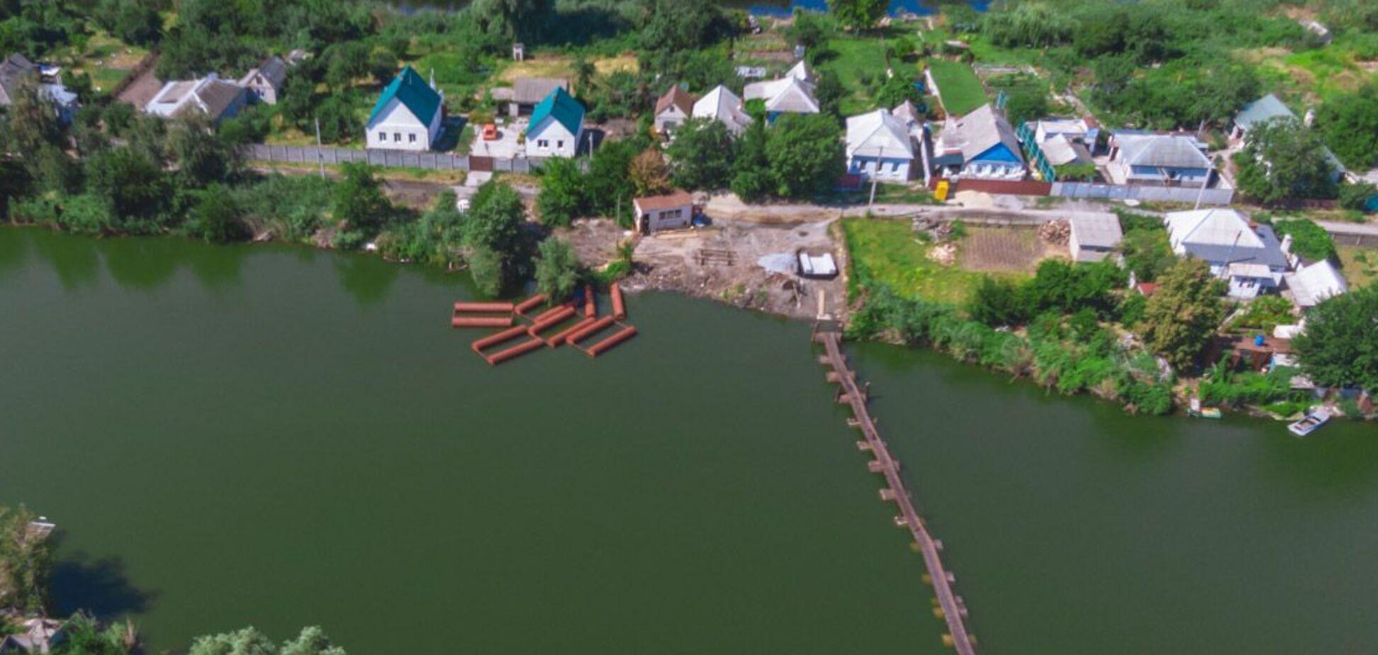 В Днепре начали строительство нового моста: когда откроют переправу
