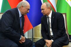 Лукашенко согласился на все предложения Путина