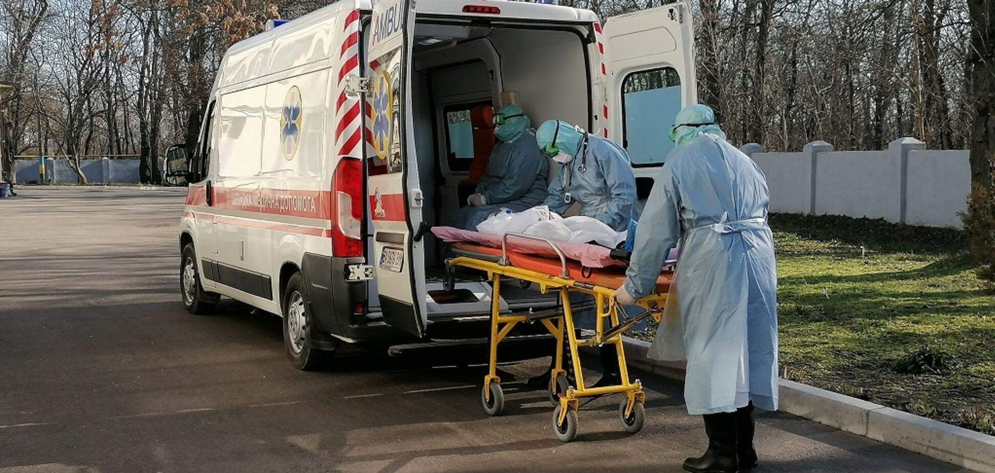 Коронавірус в Україні. Ілюстрація