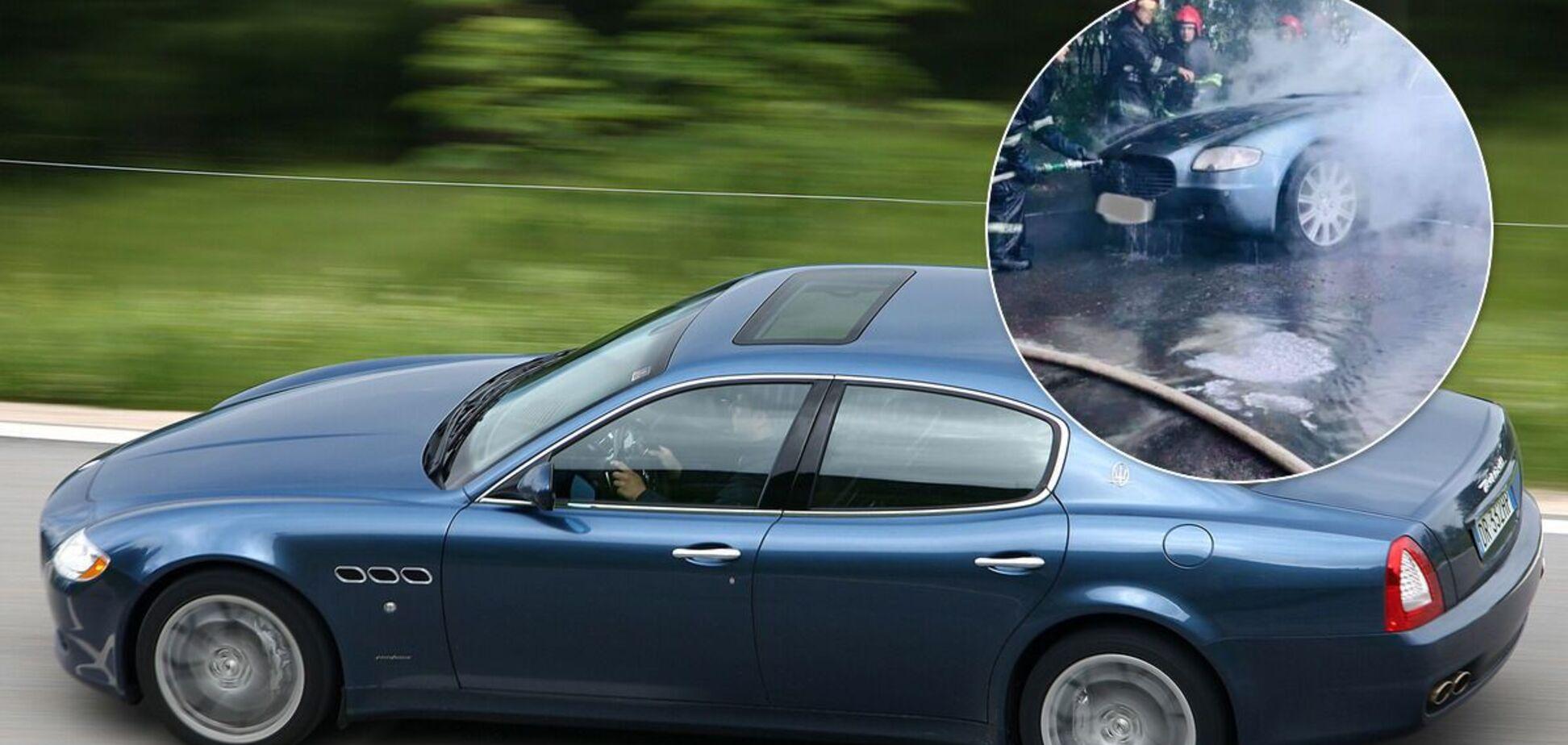 Пожежники ліквідували займання розкішного Maserati