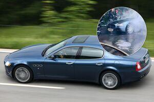 Пожарные ликвидировали возгорание роскошного Maserati