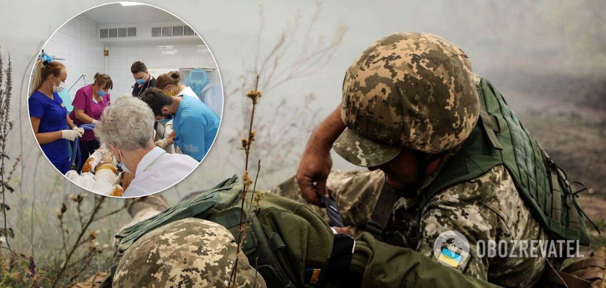 У Дніпрі рятують бійця ОС, який підірвався на міні: з'явилося тривожне фото