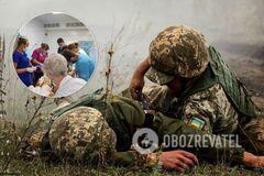 В Днепре спасают подорвавшегося на мине бойца ООС: появилось тревожное фото