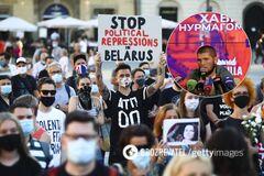 Хабіб Нурмагомедов висловився про протести в Білорусі