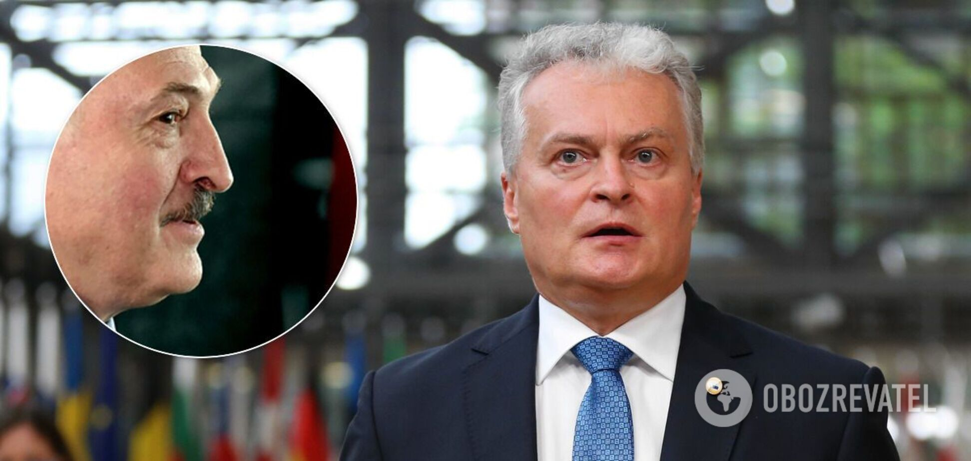 Гітанас Науседа поставив під сумнів легітимність Олександра Лукашенка