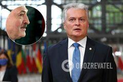 Гитанас Науседа поставил под сомнение легитимность Александра Лукашенко