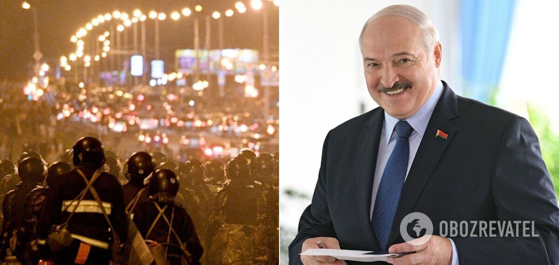 Лукашенко высказался о силовых разгонах протестов