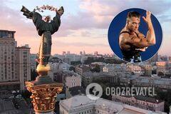 Ван Дамм знімається в Києві