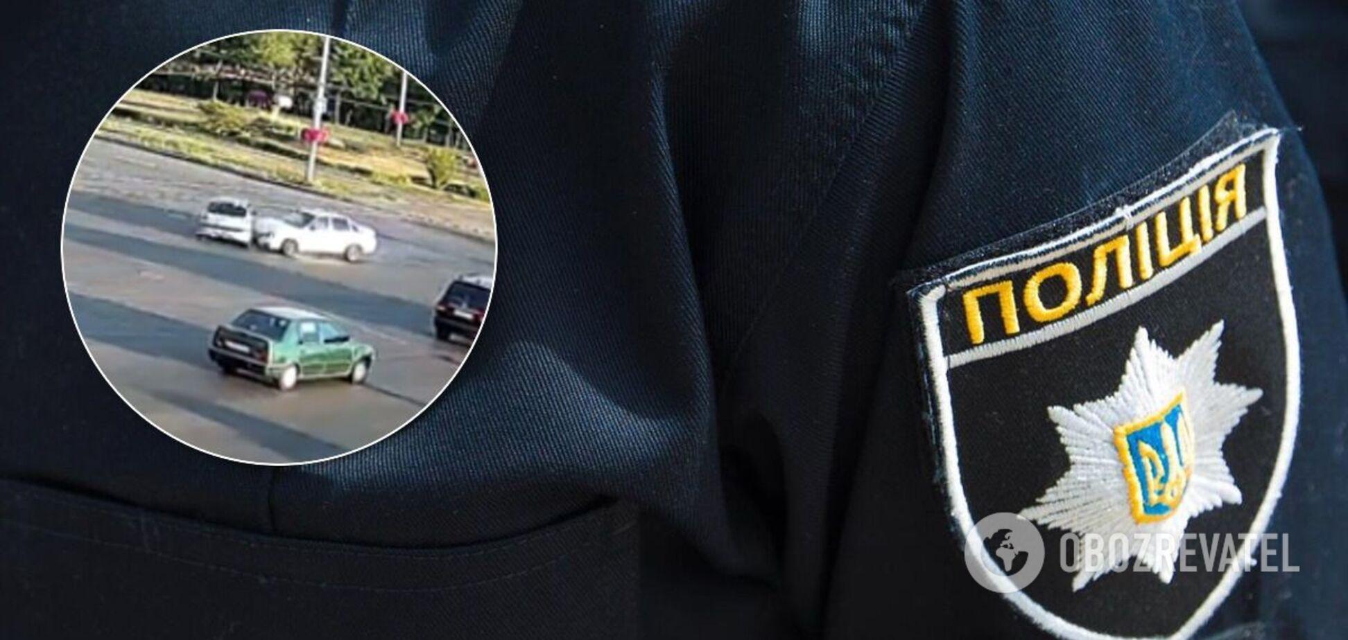 У Києві в ДТП постраждала жінка. Ілюстрація