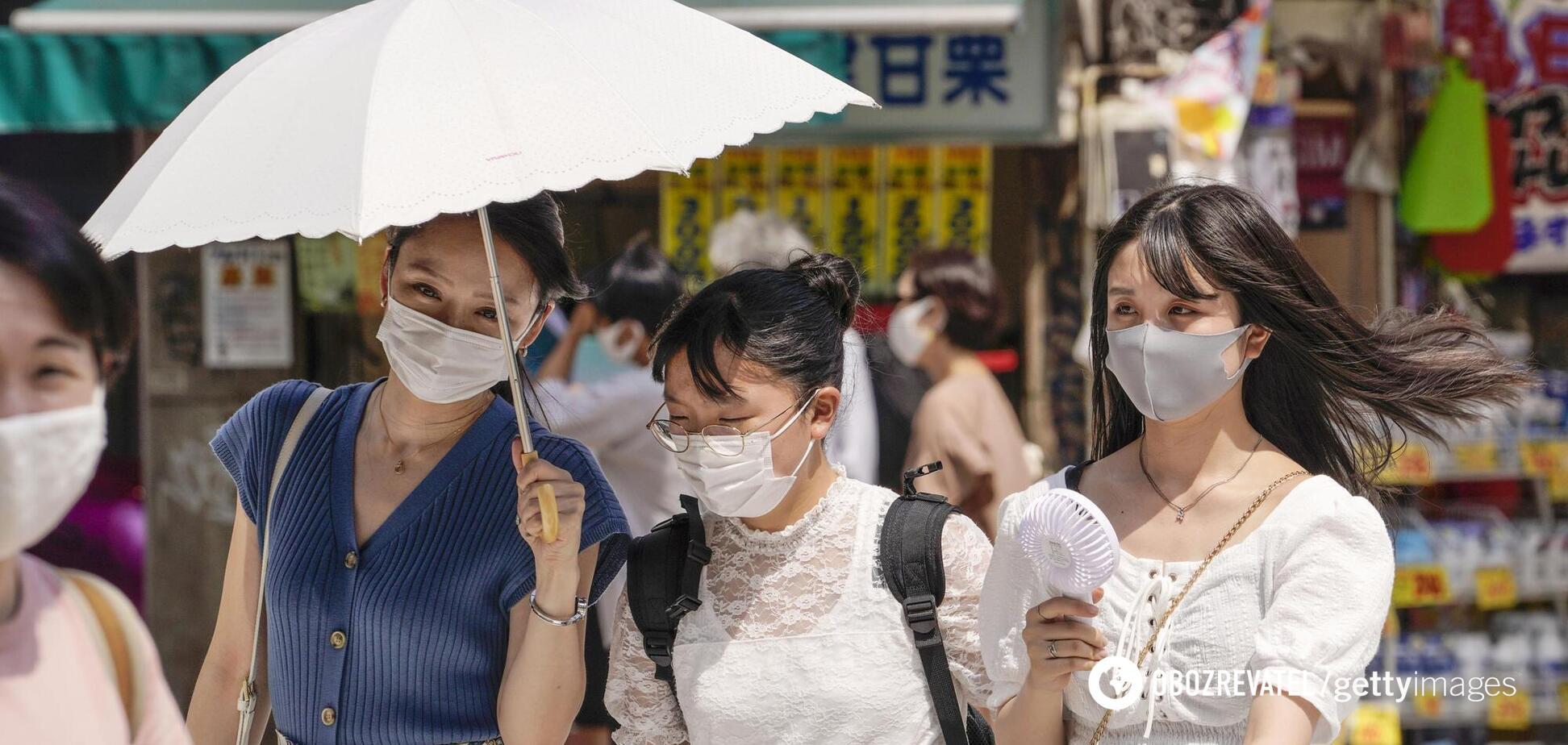 За два тижні в Токіо від спеки загинули 26 осіб