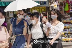 За две недели в Токио от жары погибли 26 человек