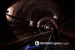 Туннели метро в Киеве