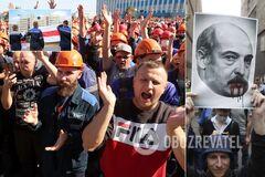 Беларусь бастует против Лукашенко