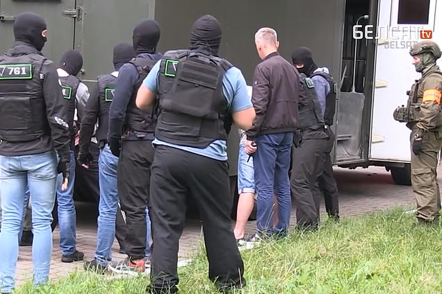 Білорусь передала Росії затриманих вагнерівців