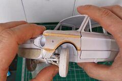 Очень крутой ЗАЗ-968М Запорожец из бумаги показали на видео