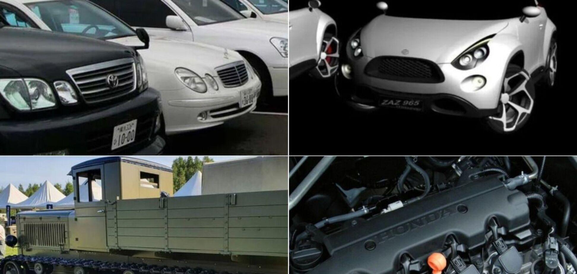 Новий 'горбатий' ЗАЗ і вживані авто за 200 євро – головне за тиждень