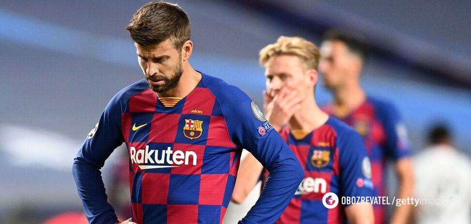 """Это позор. """"Барселона"""" достигла дна, – Жерар Пике   Футбол ..."""