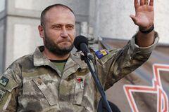Командувач Української добровольчої армії та народний депутат Дмитро Ярош