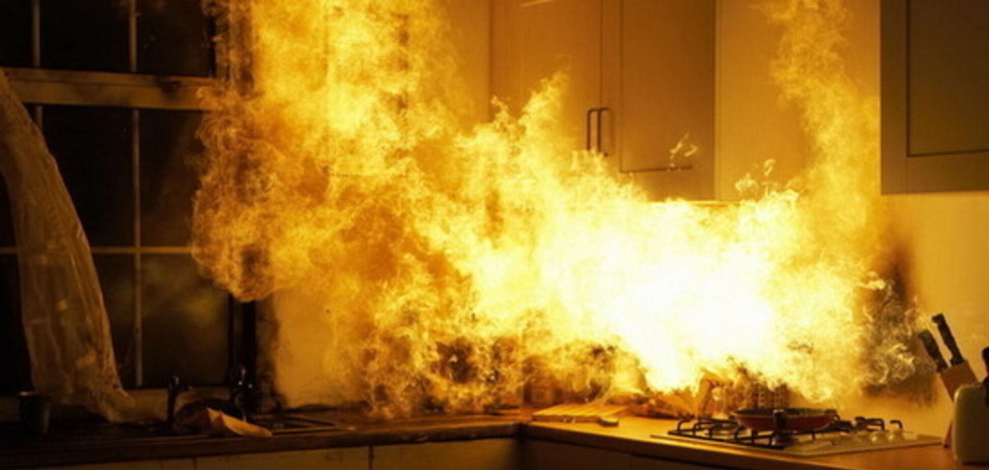 На Дніпропетровщині спалахнула пожежа в багатоповерхівці: постраждала жінка
