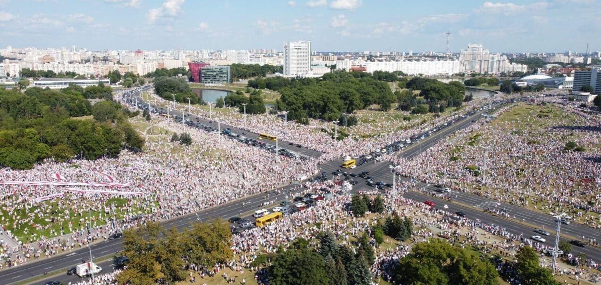 Протести в Білорусі 16 серпня 2020 року
