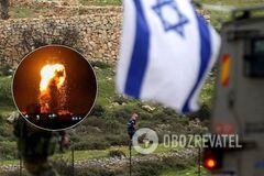 Израиль атаковал ракетный склад ХАМАСа в ответ на обстрел своей территории