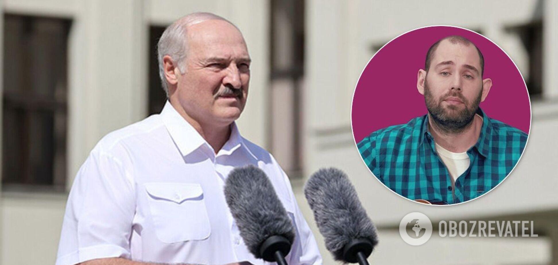 Слепаков обратился к Лукашенко