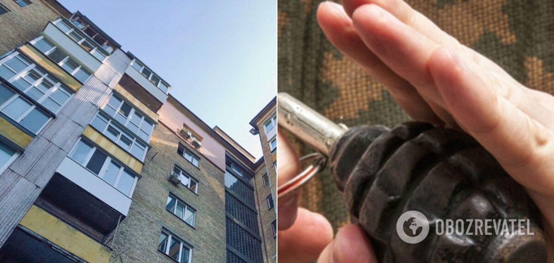 На Дніпропетровщині квартиру з людьми підірвали гранатою